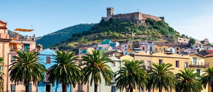 Bosa - north west Sardinia