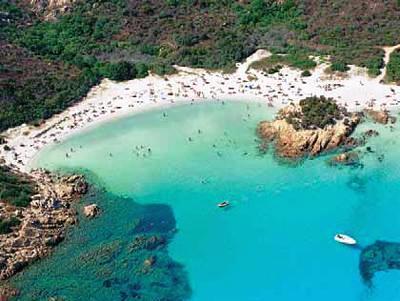 playas en la Costa Smeralda
