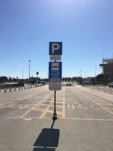Fermata autobus ARST aeroporto di Alghero