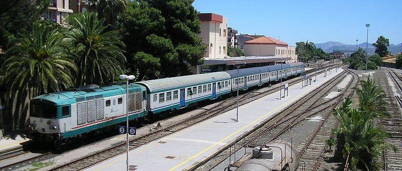 Viajar en tren en Cerdeña