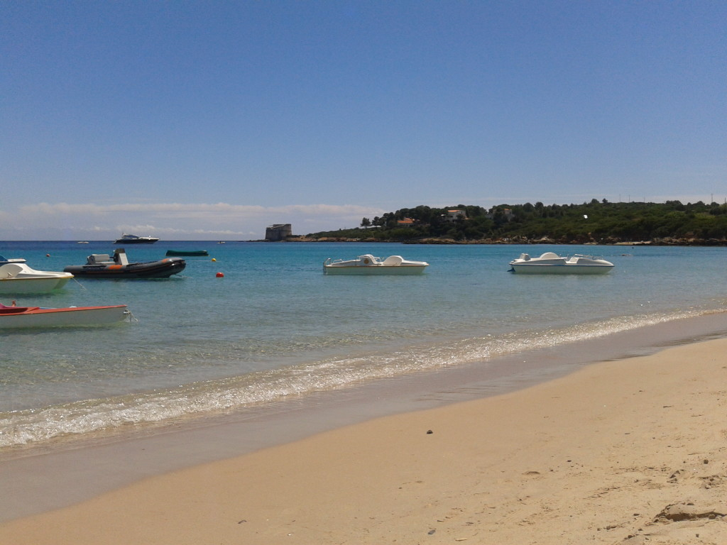 Lazzaretto beach Alghero (Sardinia)