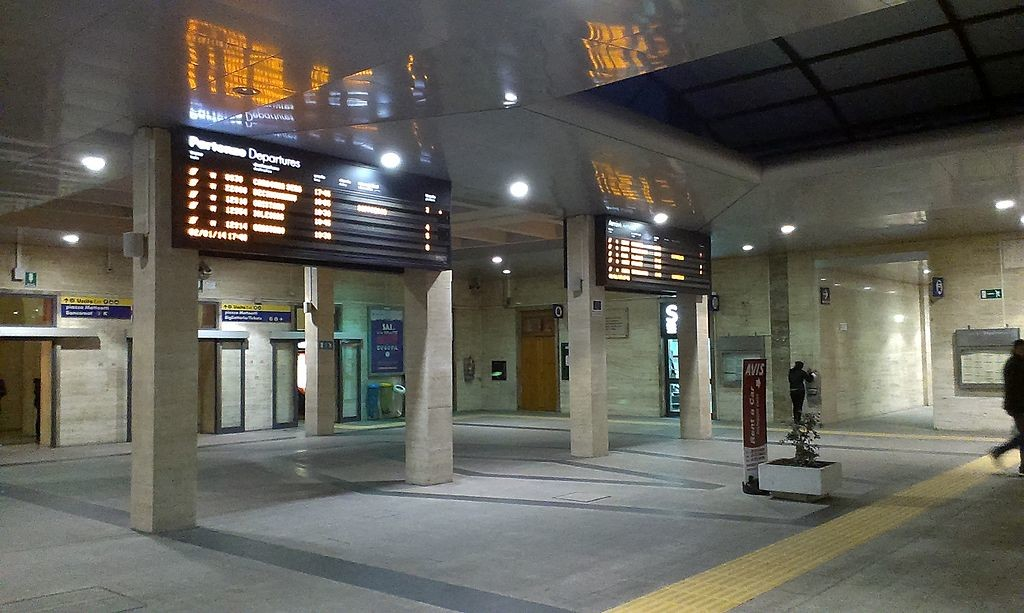 Sardinia Train - Cagliari Station