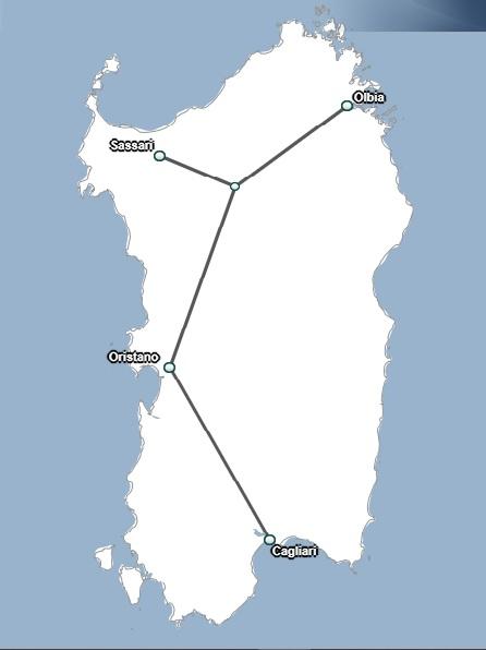 Treno Sardegna