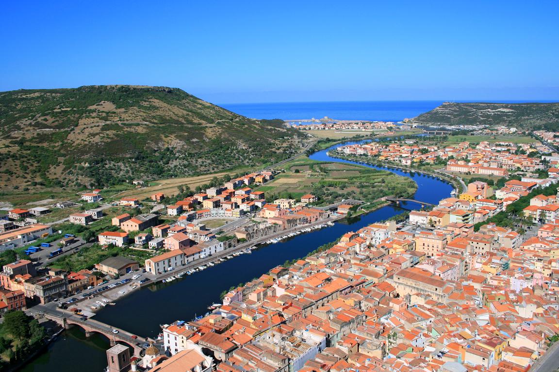 Bosa Sardegna: il fiume Temo