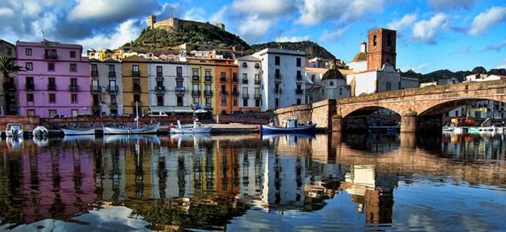 Bosa Sardegna: il borgo colorato