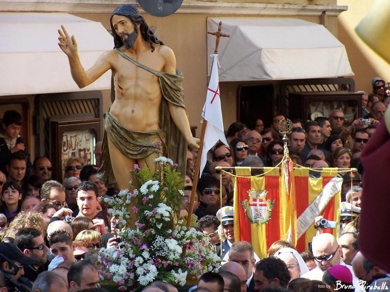 Pâques à Alghero. La semaine sainte d'Alghero