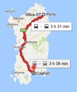 Tratta Olbia Cagliari