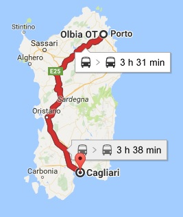 Train Sardinia Getting to CagliariOlbiaAlghero by train