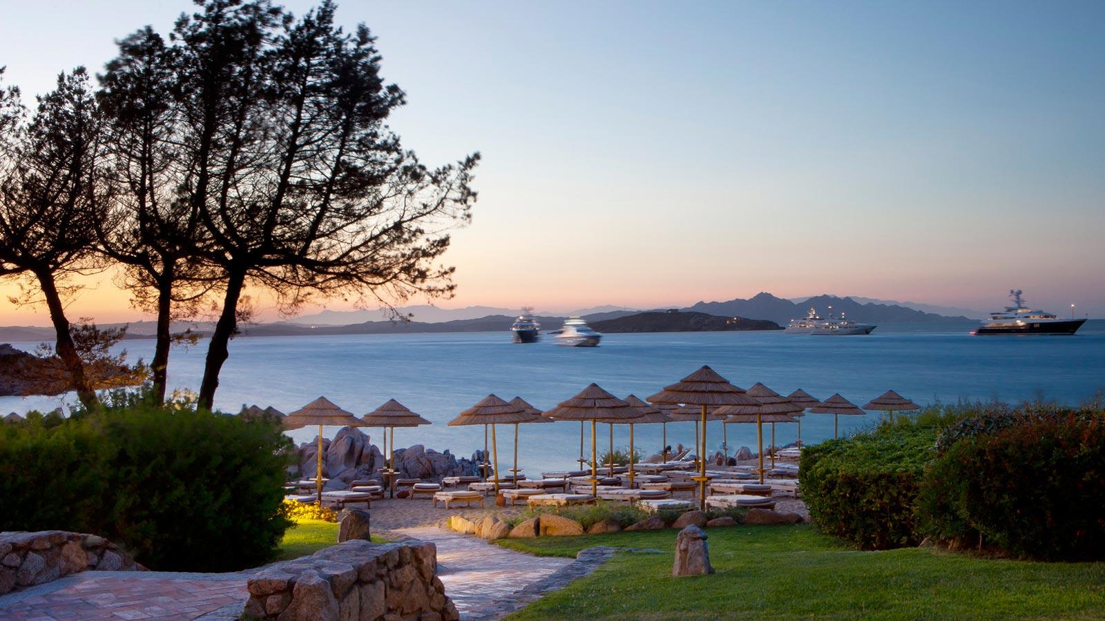 Top 6 Best Luxury Hotels With Private Beach In Costa Smeralda