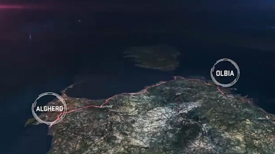 Giro d' Italia etapa Alghero-Olbia