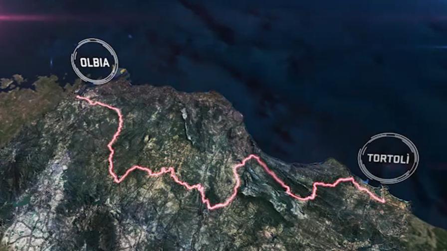 Giro d' Italia tappa Olbia-Tortolì