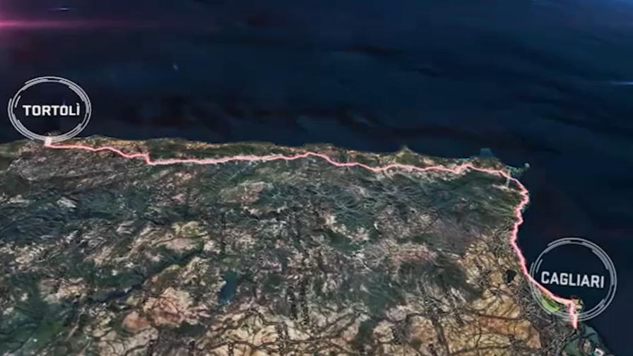 Giro d' Italia tappa Tortolì-Cagliari