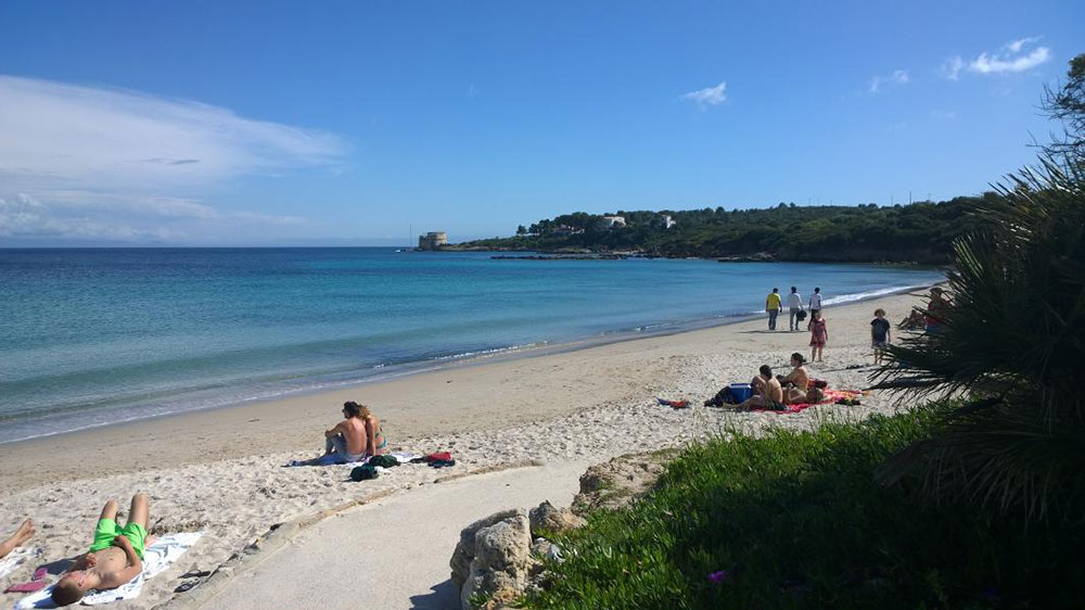 ALGHERO BEACHES : Lazzaretto beach