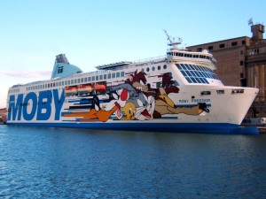 Moby Lines vers Olbia - Sardaigne