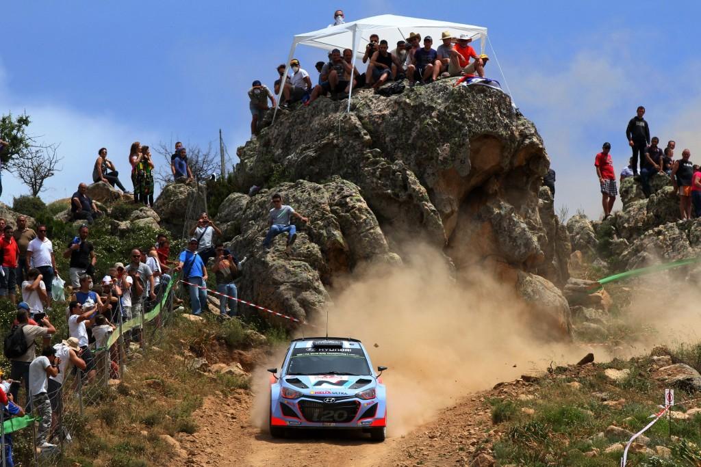 Rallye d'Italie Sardaigne 2017 Alghero-Olbia