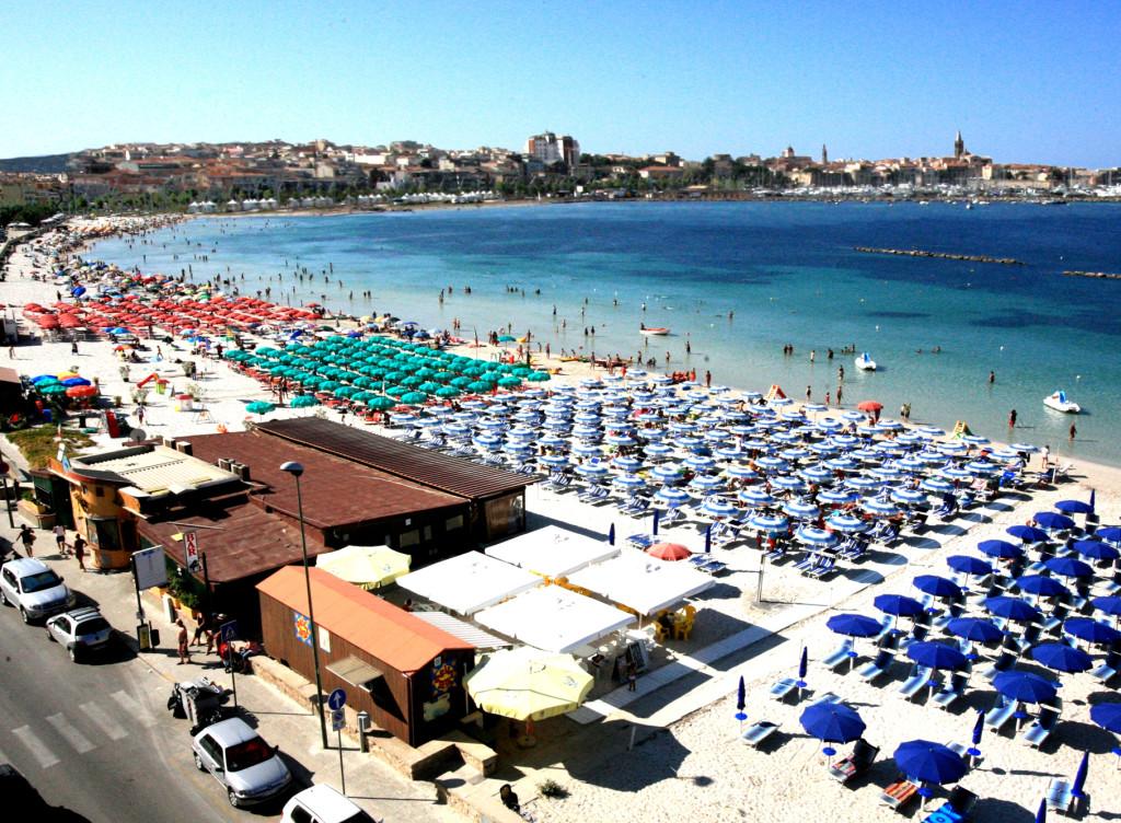 Lido San Giovanni beach