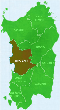 The province of Oristano