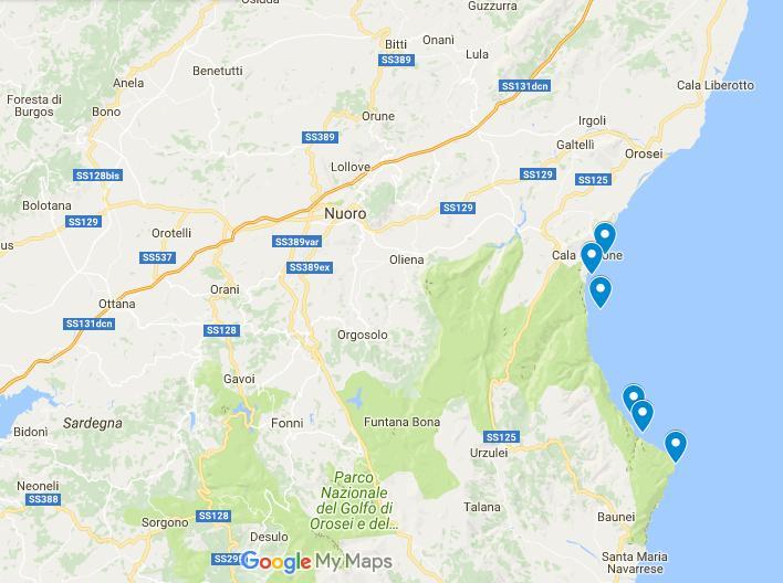 Sardinia boat itinerary 3: Cala Gonone and the Orosei Gulf