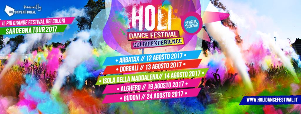 Feste Agosto sardegna: Holi Festival Tour