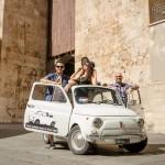 Cagliari – Tour panorámico en Fiat 500 de época