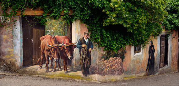 Sardinia in autumn - murales