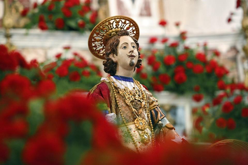Fiesta de Sant Efisio Cagliari. 1 de mayo de 2019