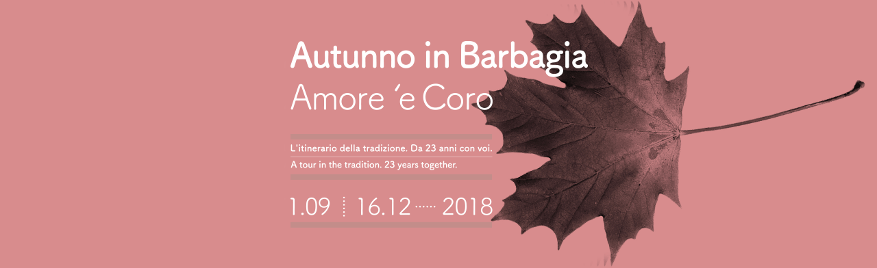 Autunno in Barbagia Calendario e paesi