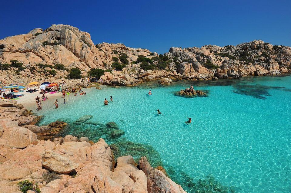 Excursions en bateau autur des îles de la Maddalena
