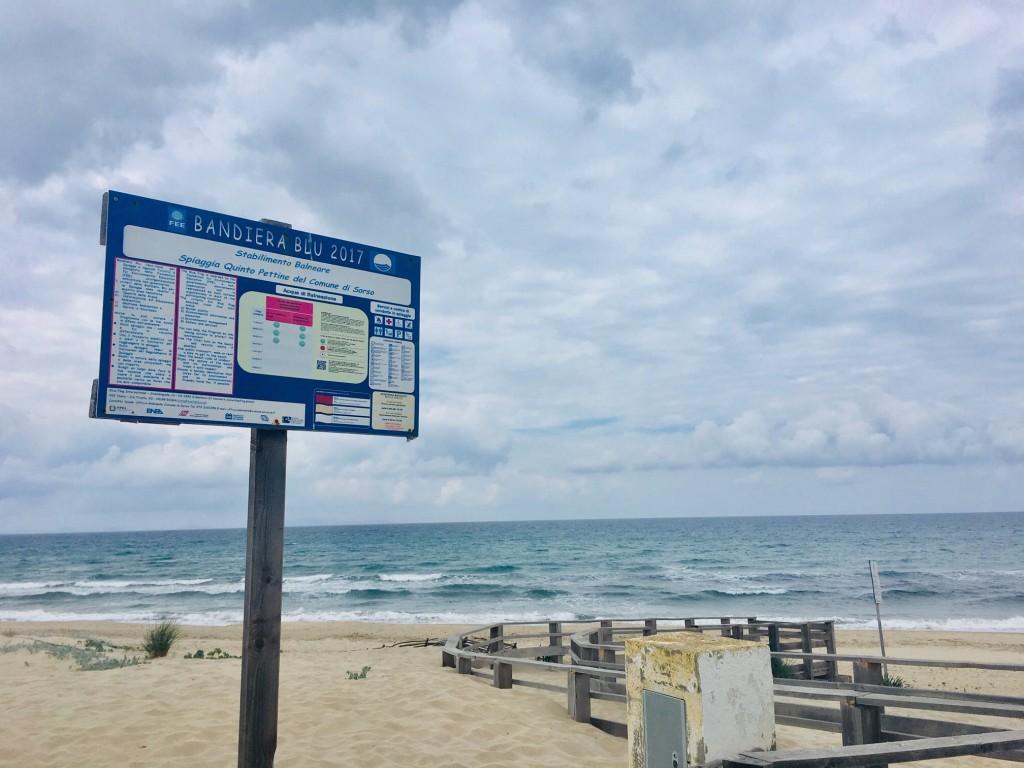 Spiaggia Bandiera Blu Marina di Sorso