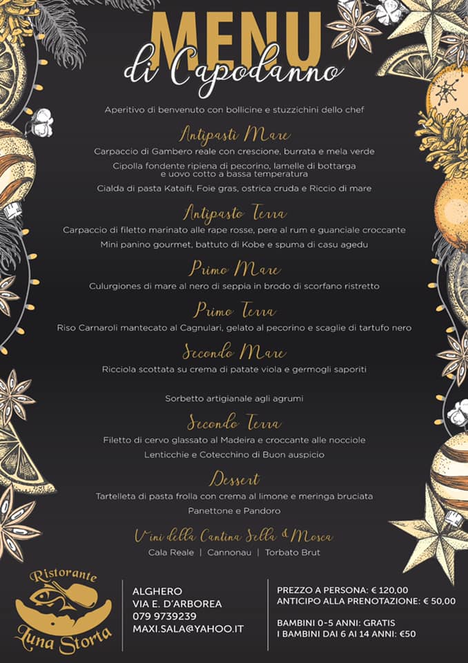 Cenone Capodanno Luna Storta