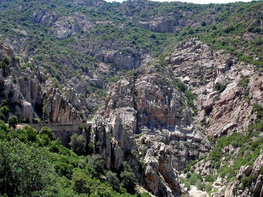 Strade panoramiche in Sardegna Campu Omu