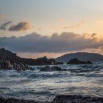 Autunno in Sardegna - mare agitato