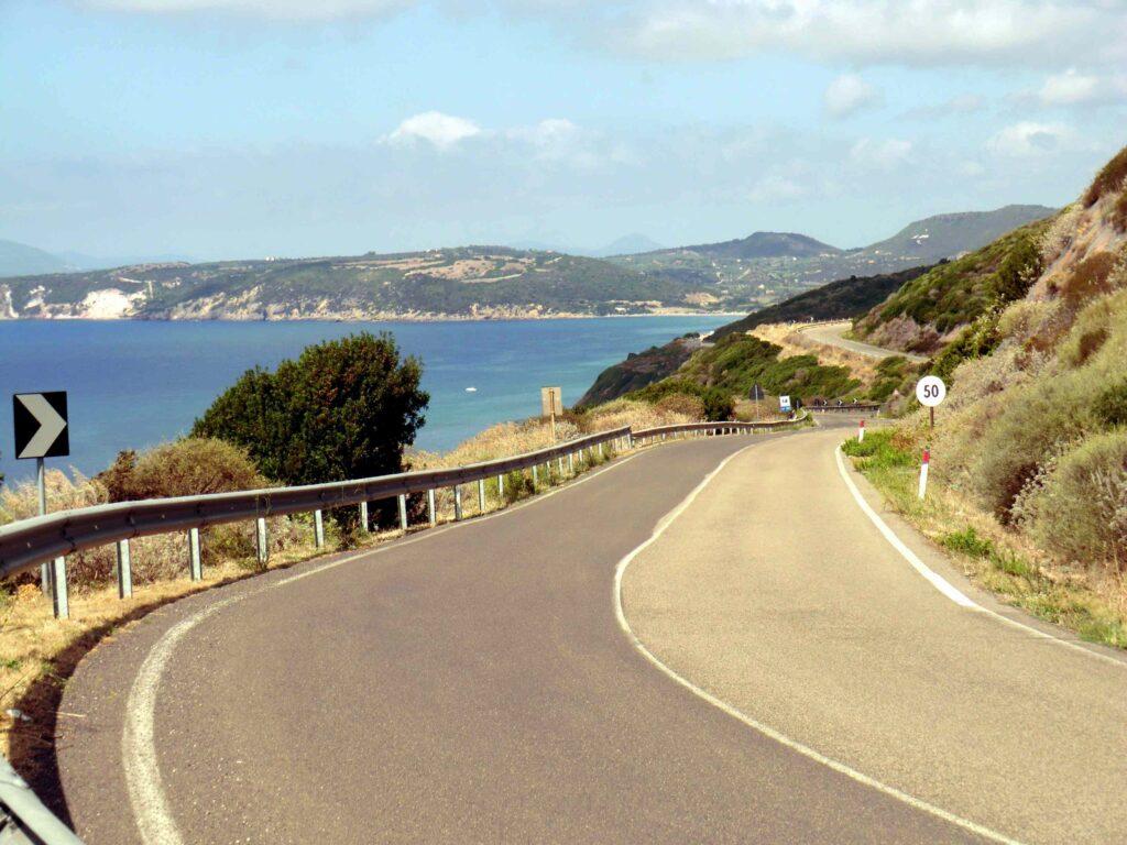 Strade panoramiche in Sardegna