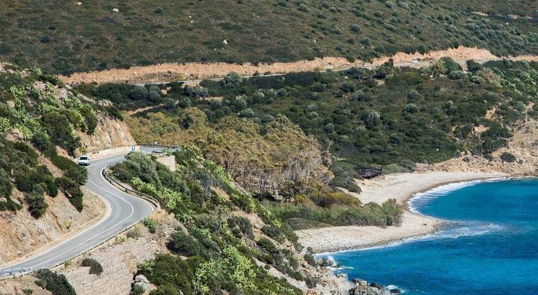 Strade Panoramica in Sardegna