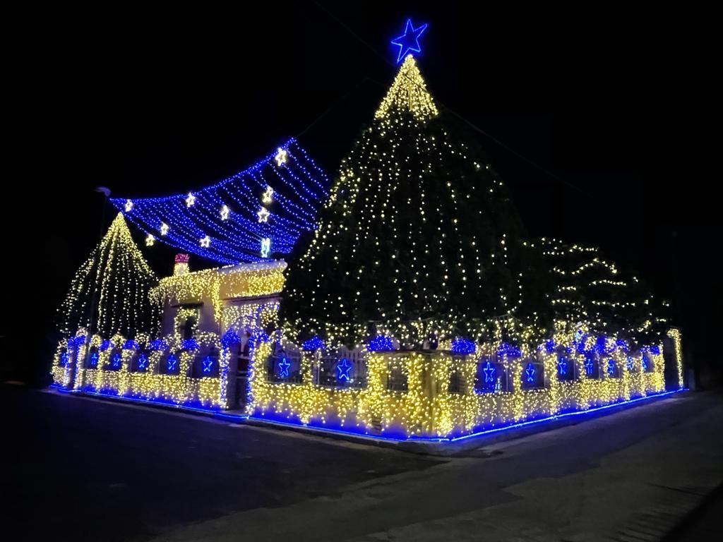 Casa illuminata di Senorbì